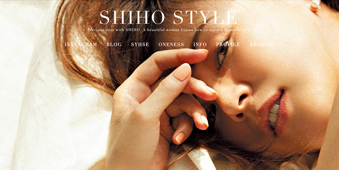 SHIHO sTYLE